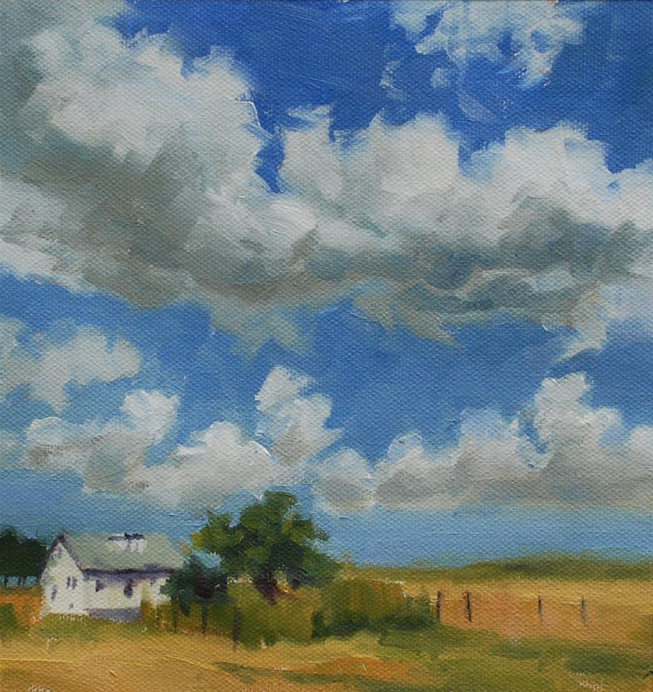 """Jerry and Vicki's Place"" original fine art by Susan McManamen"