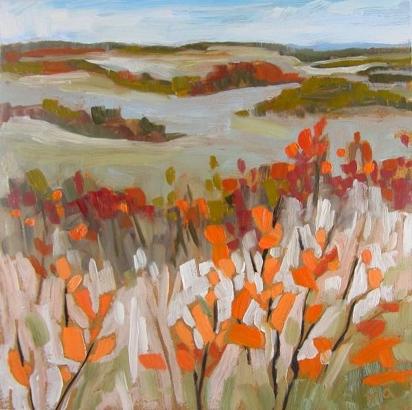 """""""September Up Front"""" original fine art by Nicki Ault"""