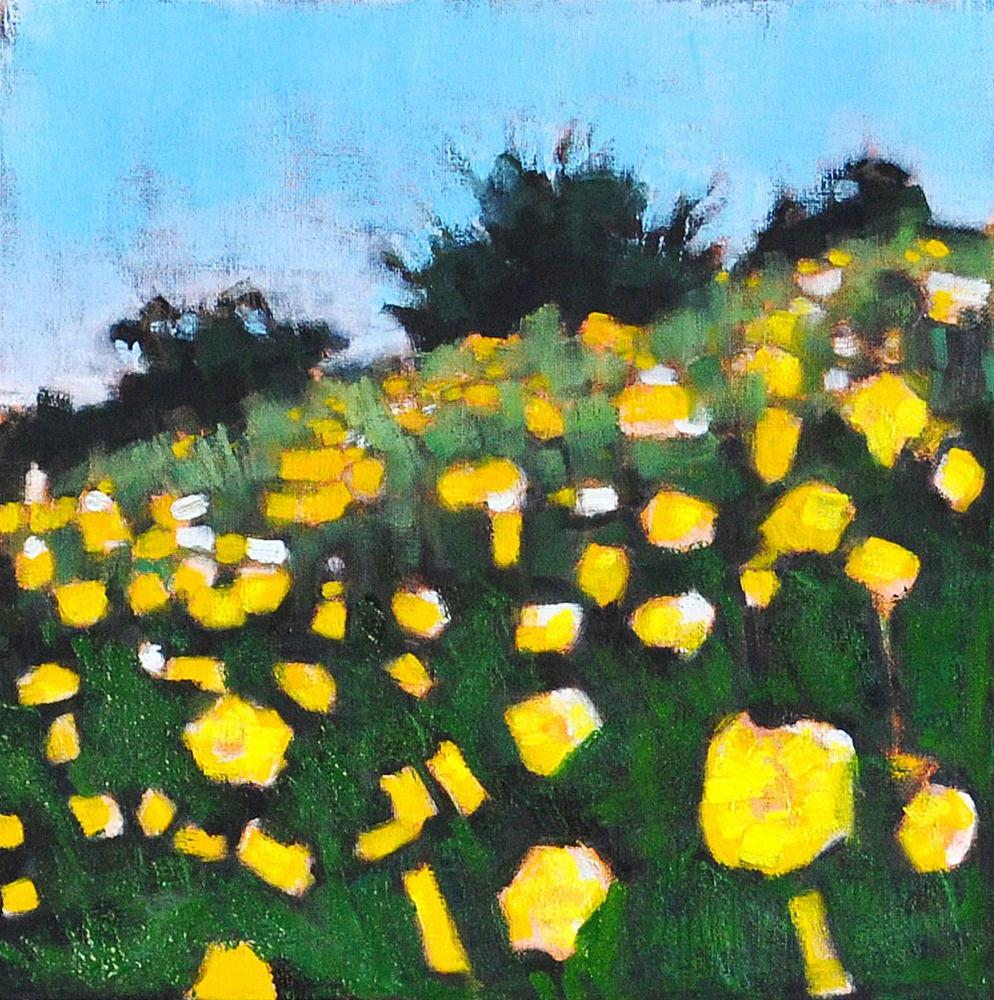 """Wildflowers"" original fine art by Kevin Inman"