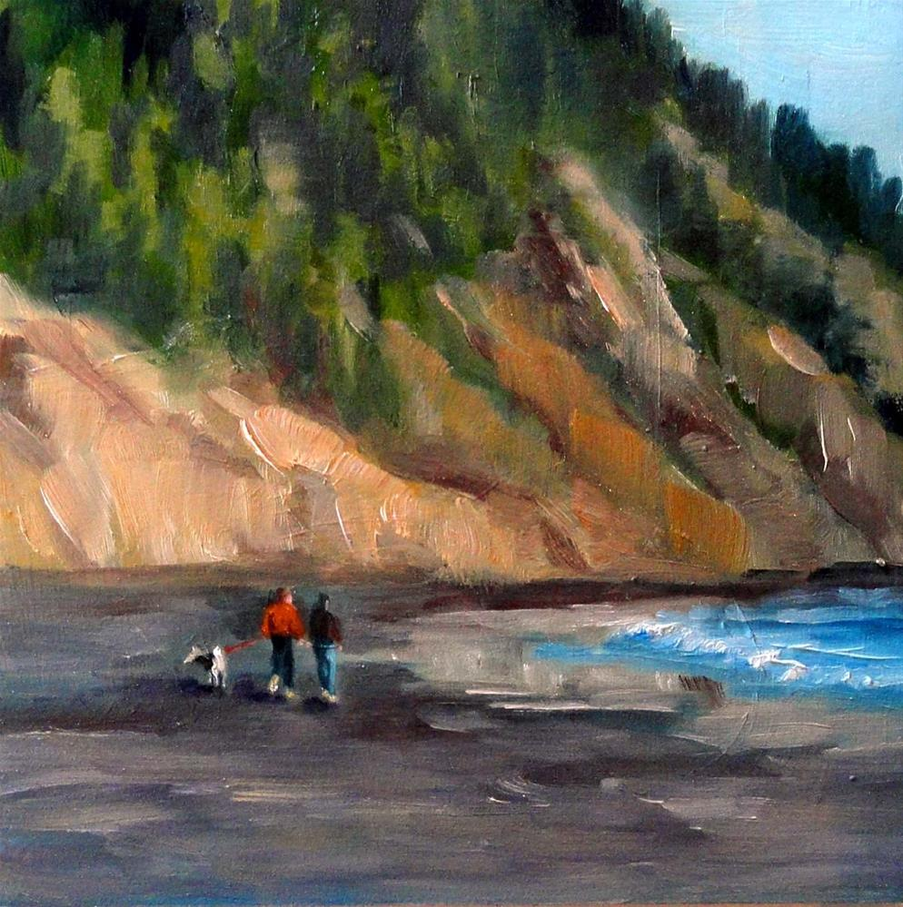 """A Quiet Stroll"" original fine art by Cietha Wilson"