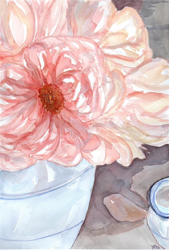 """Blush"" original fine art by Laura Denning"