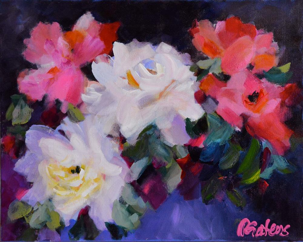 """Roses, Roses"" original fine art by Pamela Gatens"