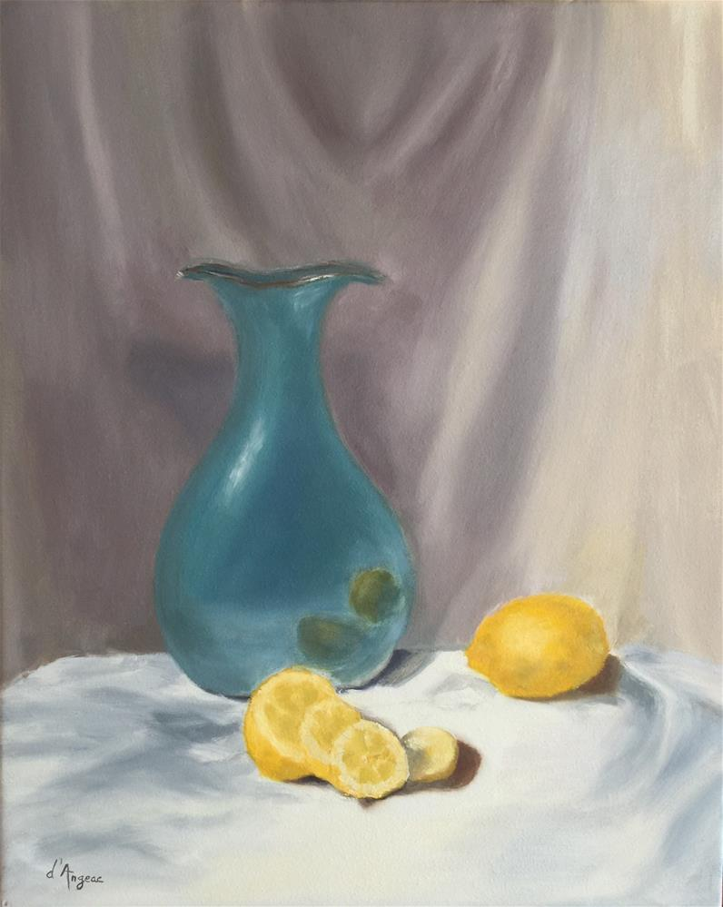 """Still Life I"" original fine art by Karen D'angeac Mihm"
