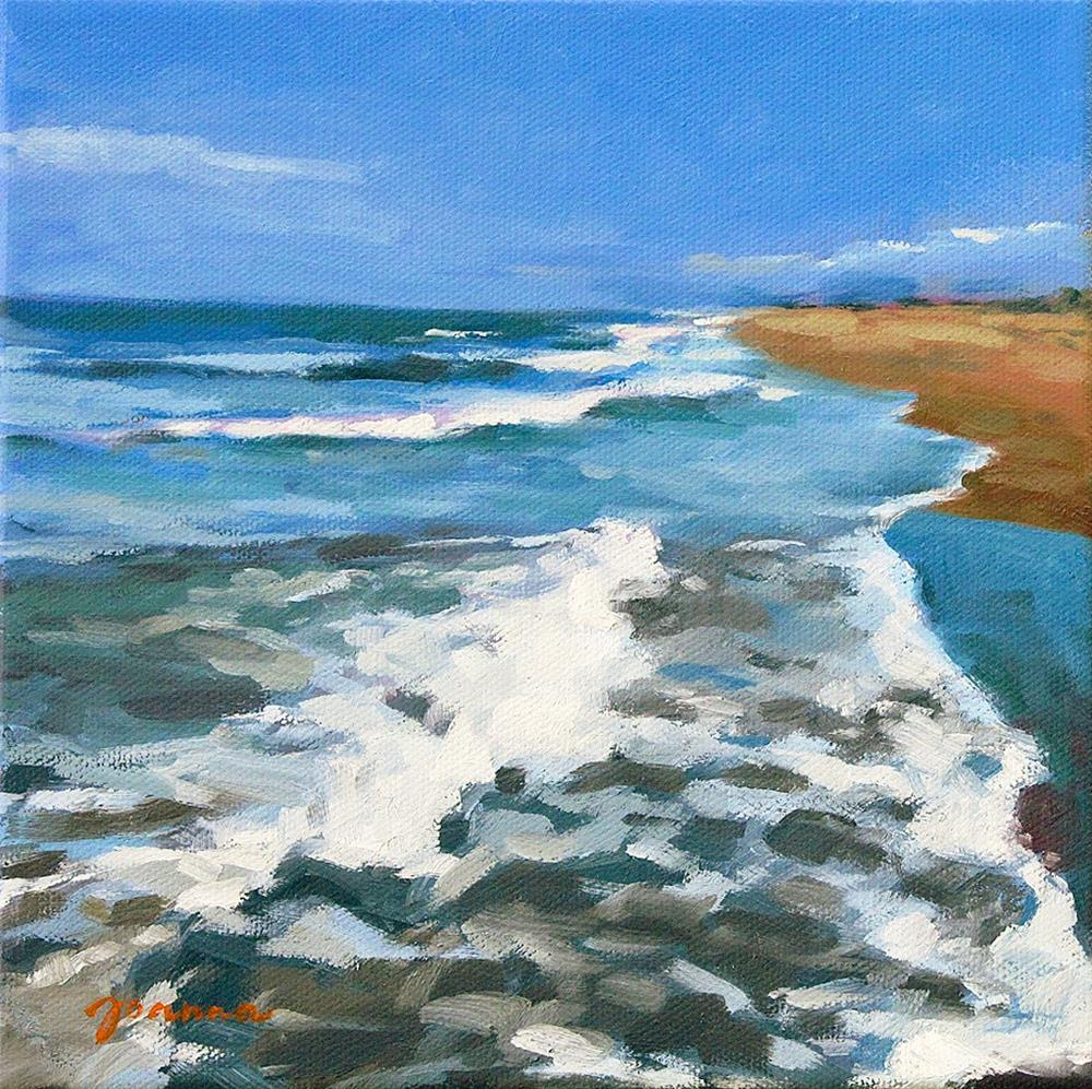 """In The Wave"" original fine art by Joanna Bingham"