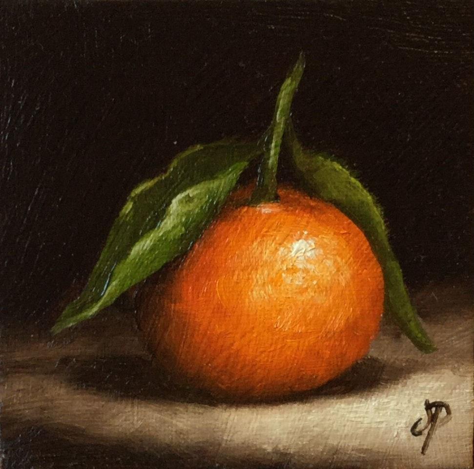 """Little Clem #2"" original fine art by Jane Palmer"