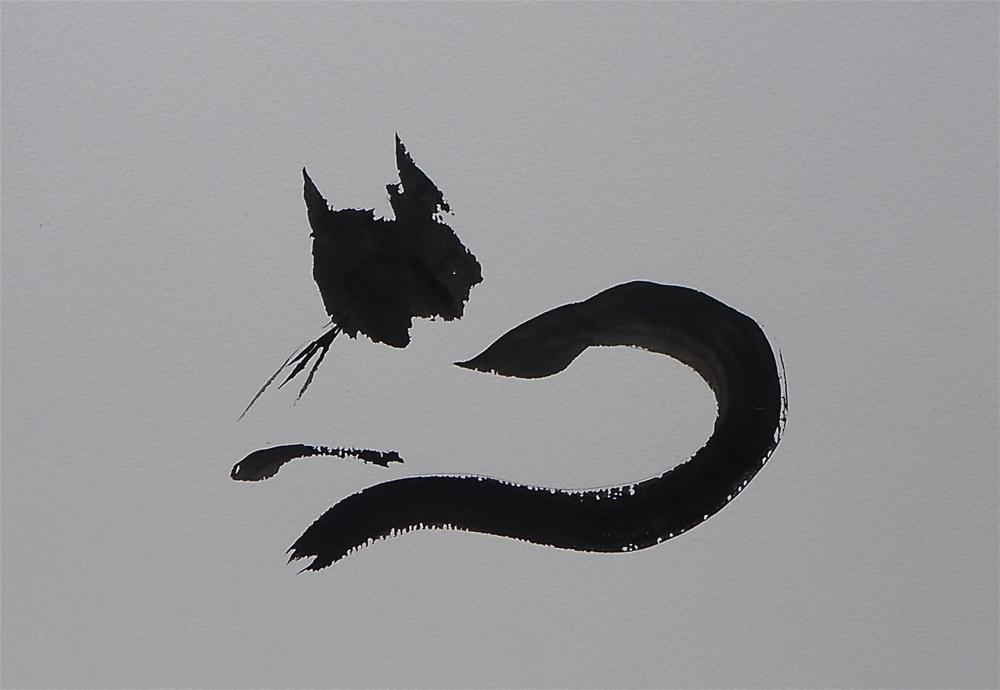 """Kitten"" original fine art by Ulrike Schmidt"