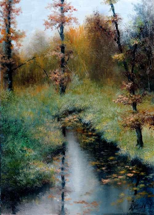 """Serenity"" original fine art by Bob Kimball"