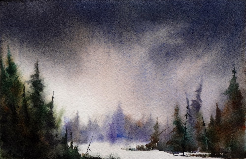 """The Big Freeze"" original fine art by Arena Shawn"