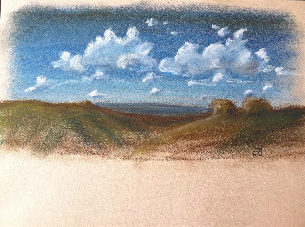 """desert scene"" original fine art by Arron McGuire"