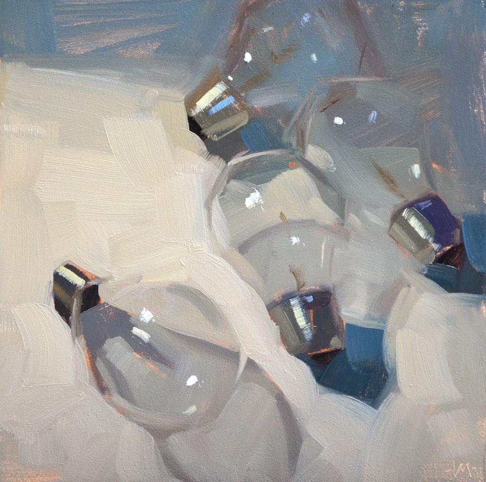 """Bulb Bits"" original fine art by Carol Marine"
