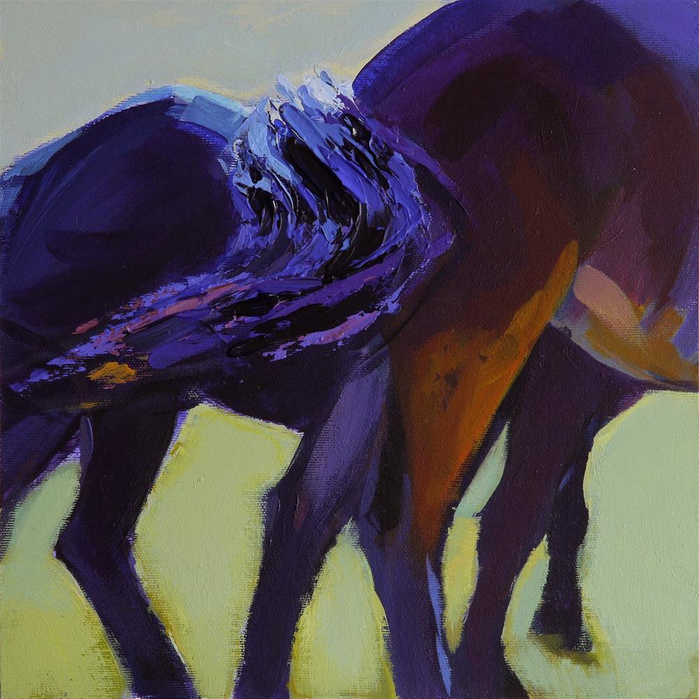 """tail"" original fine art by Beata Musial-Tomaszewska"