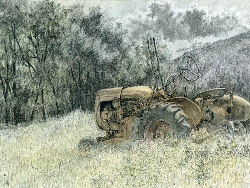 """Wistful"" original fine art by David King"
