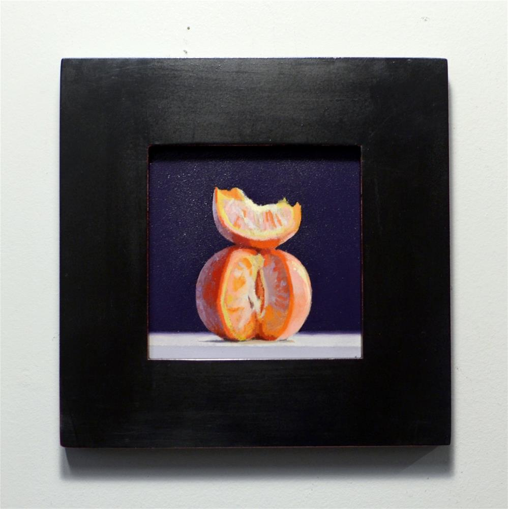 """Citrus Slice"" original fine art by Brian Burt"