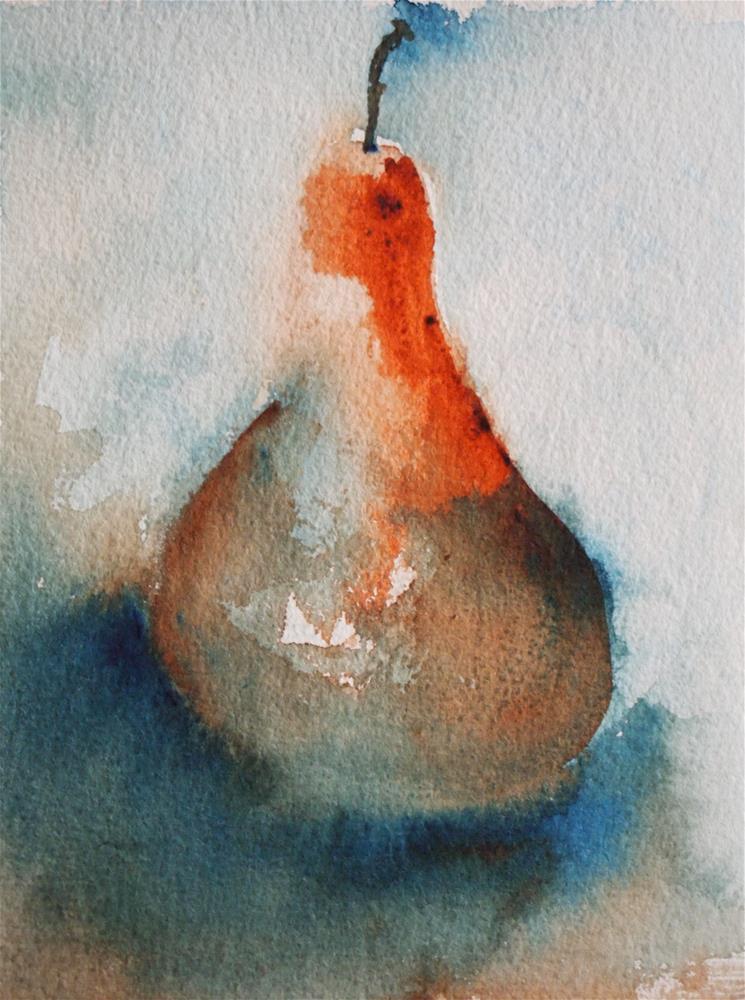 """""""Pear I"""" original fine art by Amy Bryce"""