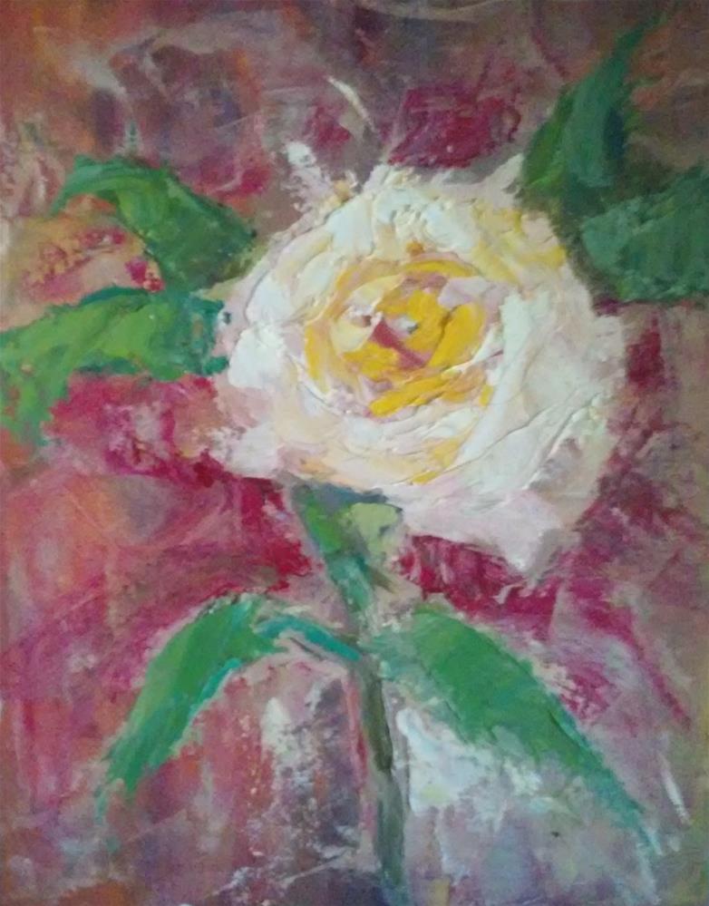 """""""Rosie"""" original fine art by Gerri Obrecht"""