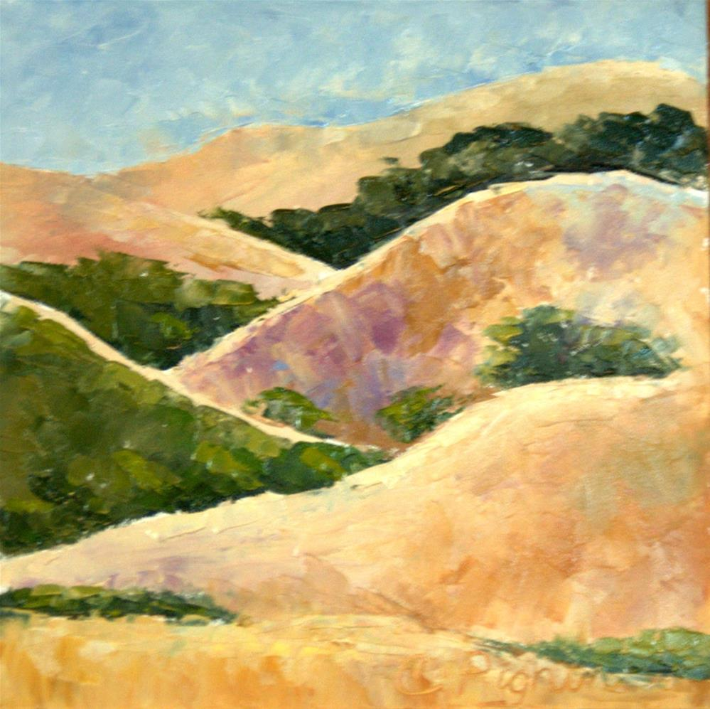 """Napa Hills"" original fine art by Carol Pighin"