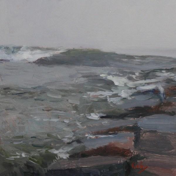 """Sounds of the Sea"" original fine art by Randall Cogburn"
