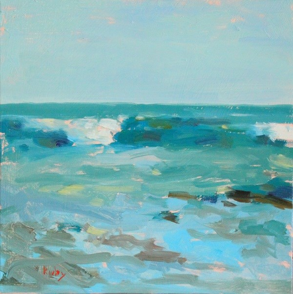 """Low Tide"" original fine art by Randall Cogburn"