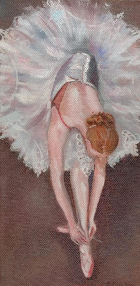 """""""The Ballet"""" original fine art by Linda Dunbar"""
