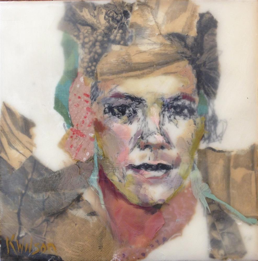 """""""Square"""" original fine art by Katie Wilson"""