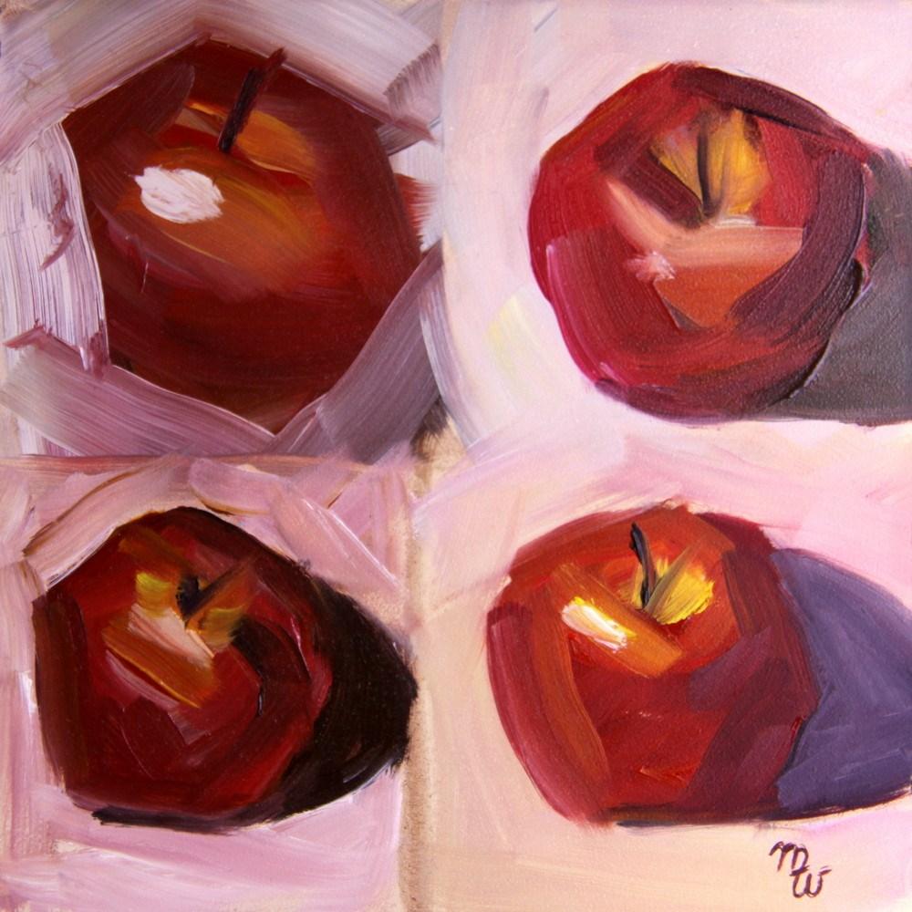 """Apple Study, Carol Marine Workshop"" original fine art by Merrill Weber"