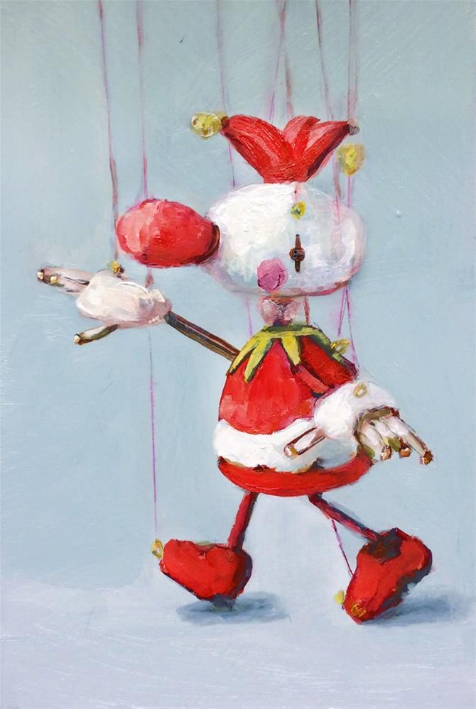 """""""sakuma sota marionette Jester"""" original fine art by Sunny Avocado"""