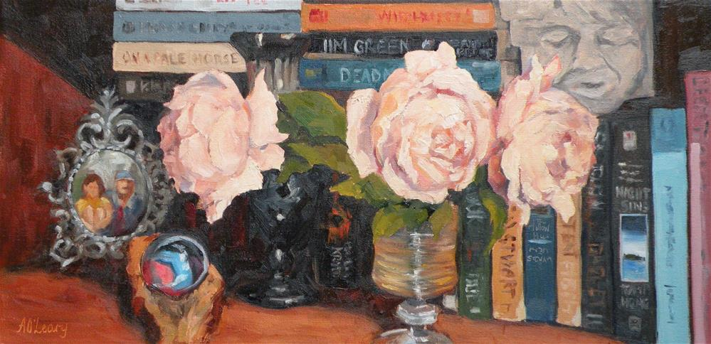 """Kips Roses"" original fine art by Alice O'Leary"