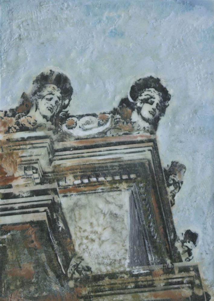 """Museum Muses II"" original fine art by Heather Douglas"