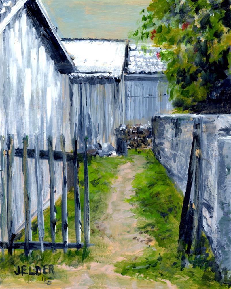 """""""Path"""" original fine art by Judith Elder"""