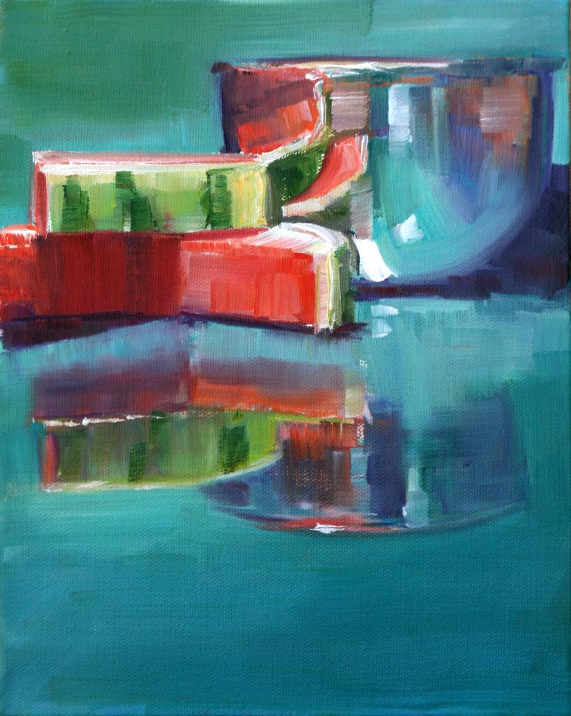 """sweet summertime"" original fine art by Carol Carmichael"