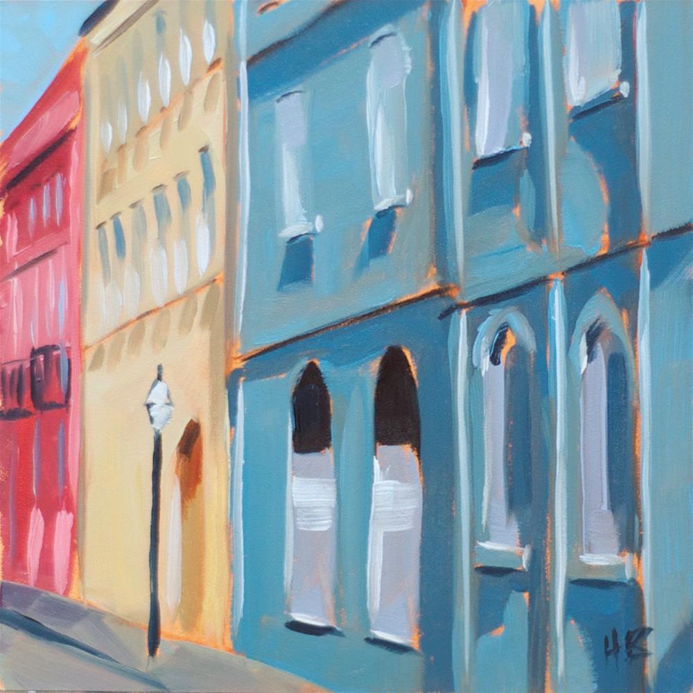 """French Quarter"" original fine art by Heather Bullach"