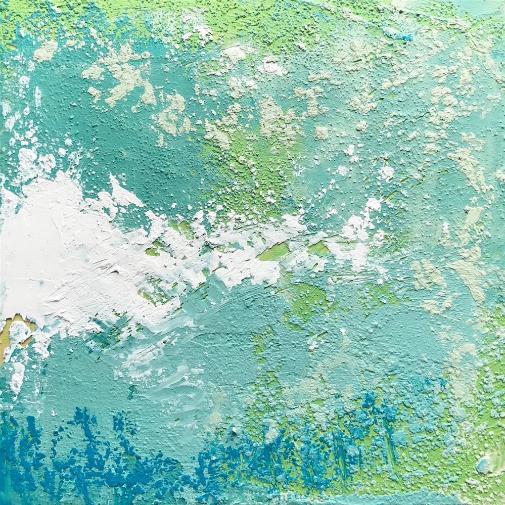"""Sea Glass VI"" original fine art by Anya Leveille"