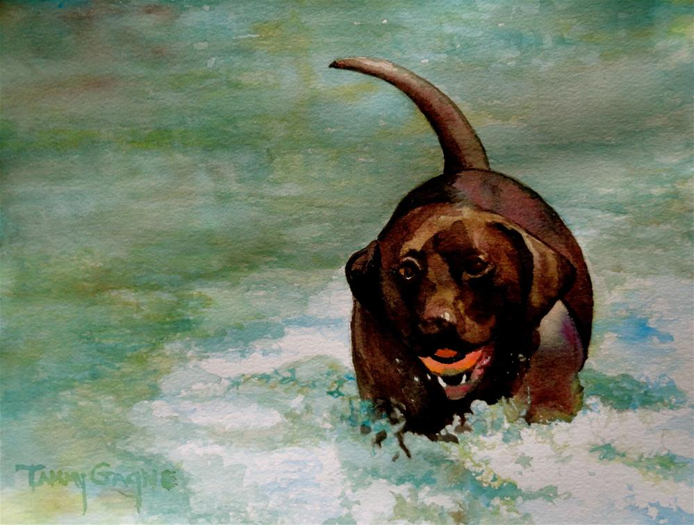 """Molly"" original fine art by Tammy Gagne"