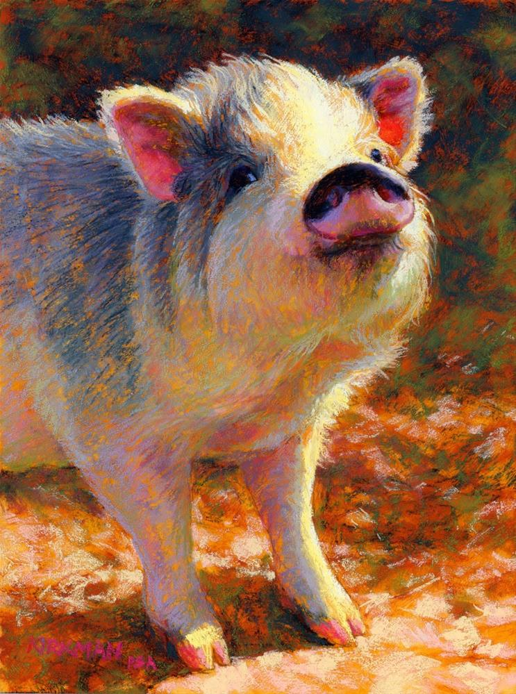 """Rosie"" original fine art by Rita Kirkman"