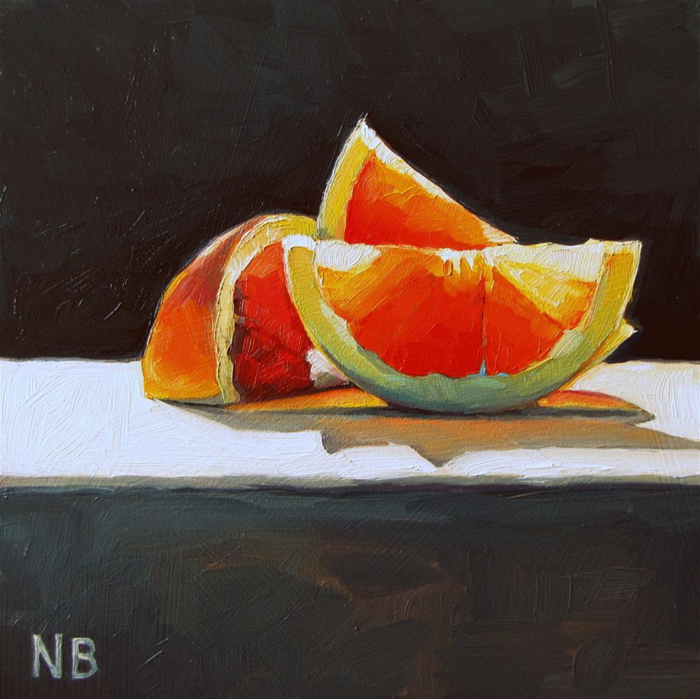 """""""Oranges 'R' Amazing"""" original fine art by Nora Bergman"""