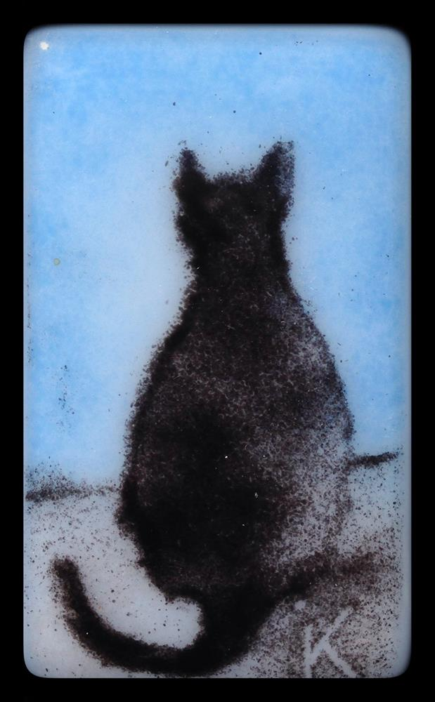 """Tito Gatito"" original fine art by Kelly Alge"