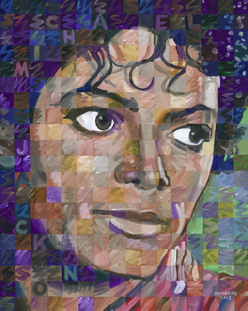 """Michael Jackson"" original fine art by Randal Huiskens"