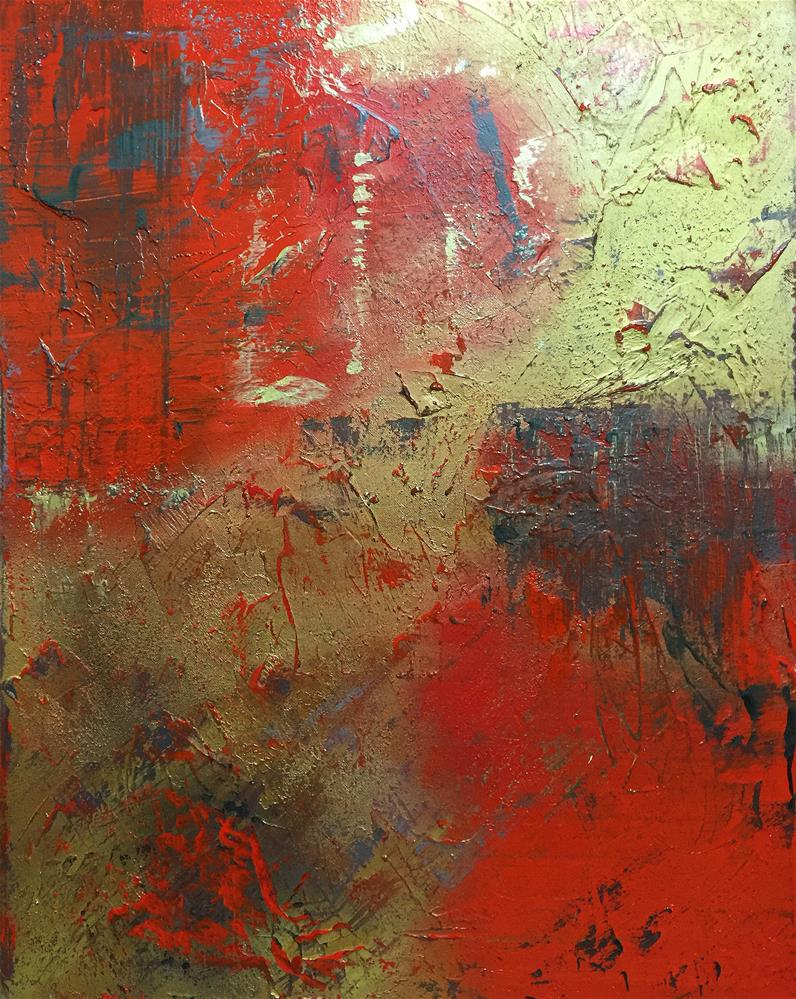 """Abstract 95"" original fine art by Sunny Avocado"