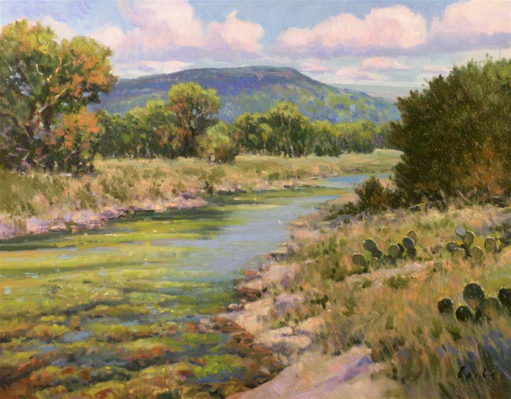 """Shallow Creek"" original fine art by David Forks"