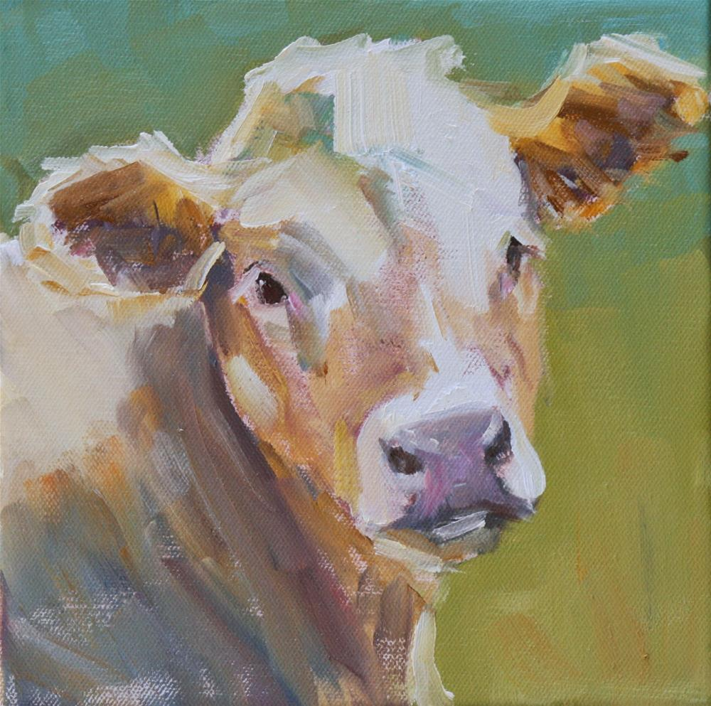 """gracie"" original fine art by Carol Carmichael"