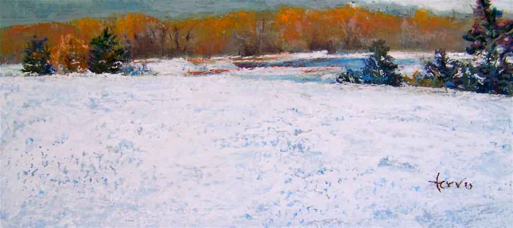 """Winter Peace"" original fine art by Susan Ferro"