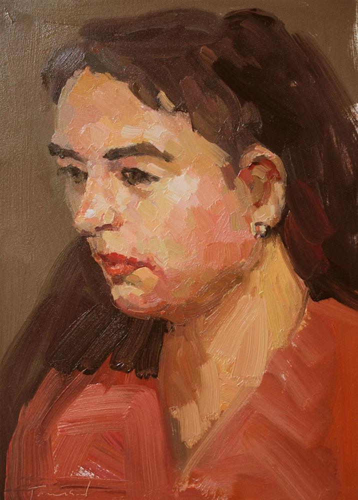 """Maia"" original fine art by Kathryn Townsend"