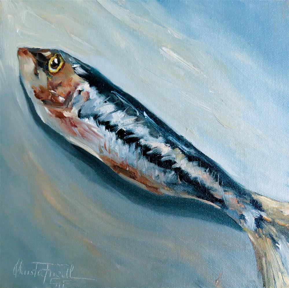 """""""Sardine"""" original fine art by Christa Friedl"""