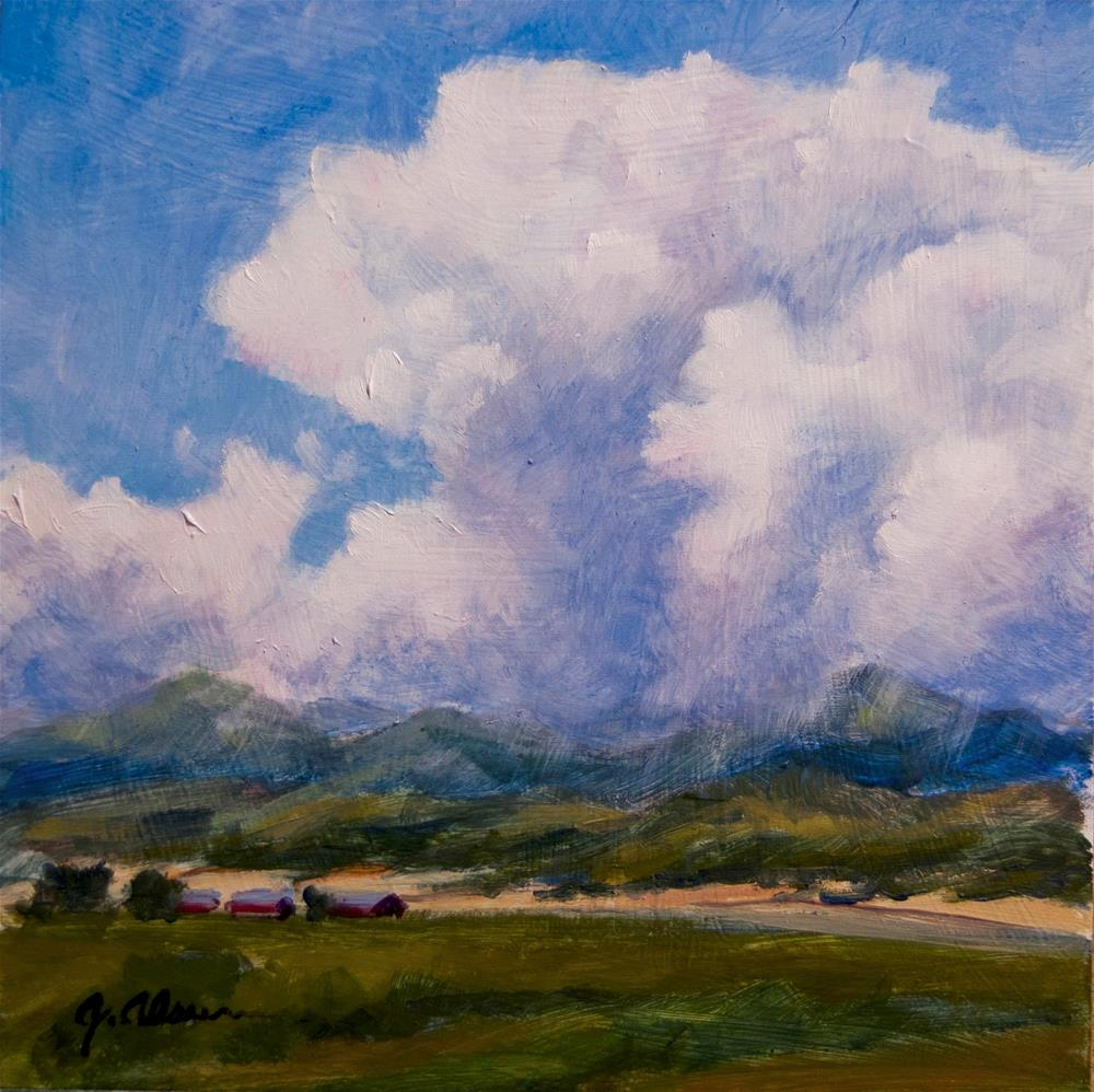 """Westcliffe Ranch"" original fine art by Gary Alsum"