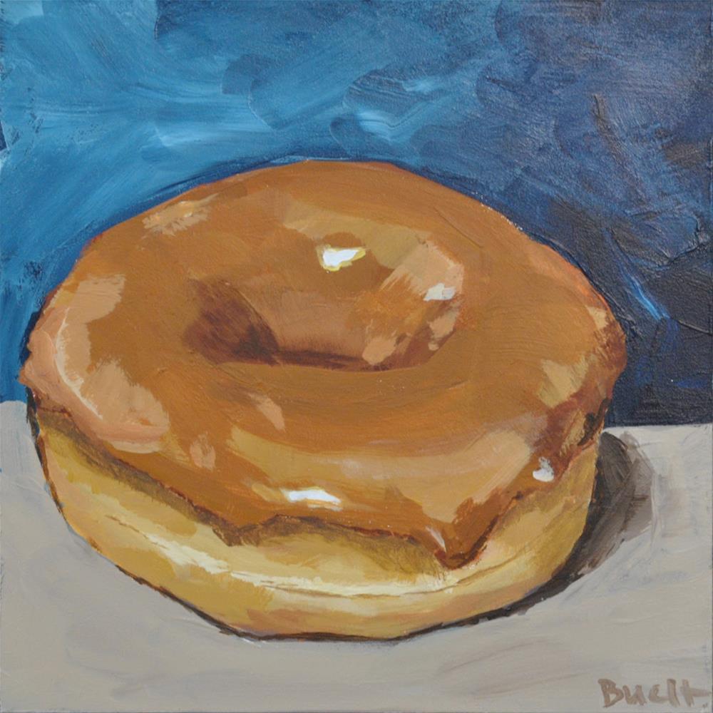 """Maple Donut"" original fine art by Shari Buelt"