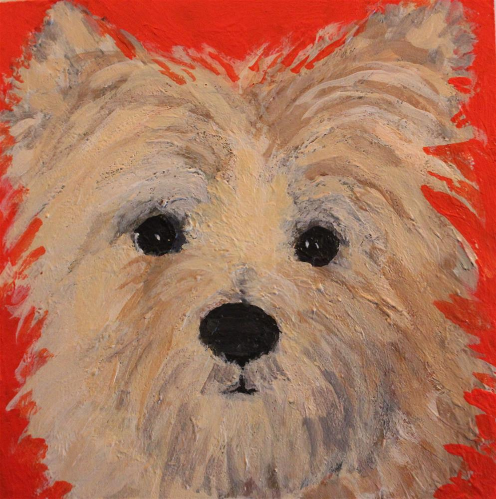 """Zoe"" original fine art by Christine Parker"