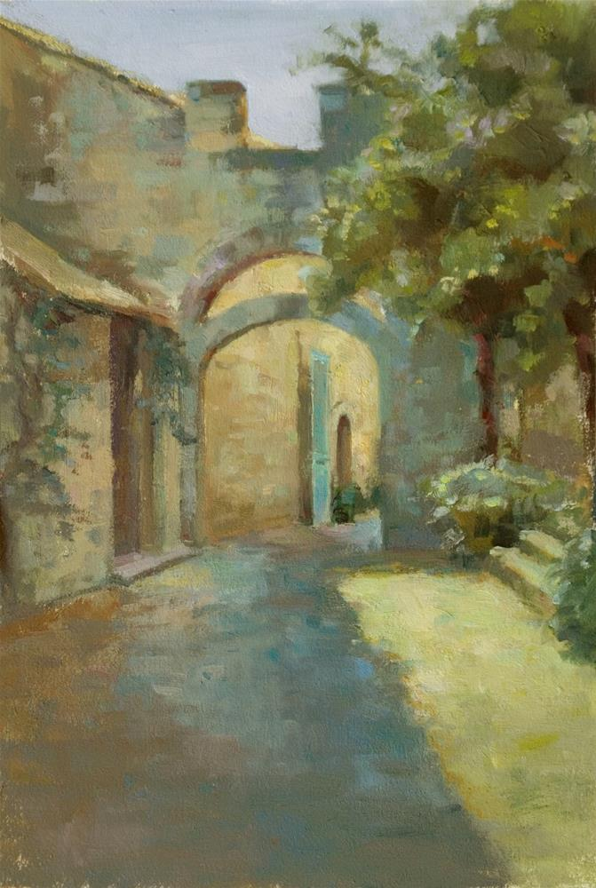 """Terrace Arcades"" original fine art by Julie Snyder"