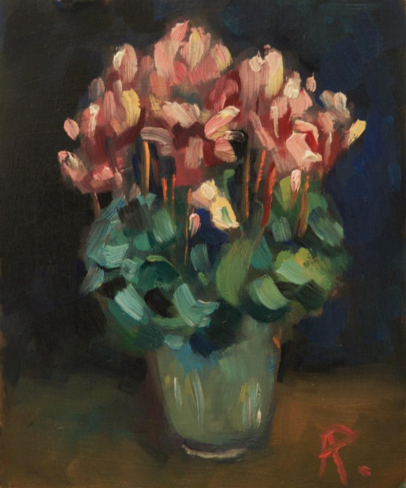 """Pot Plant"" original fine art by Andre Pallat"