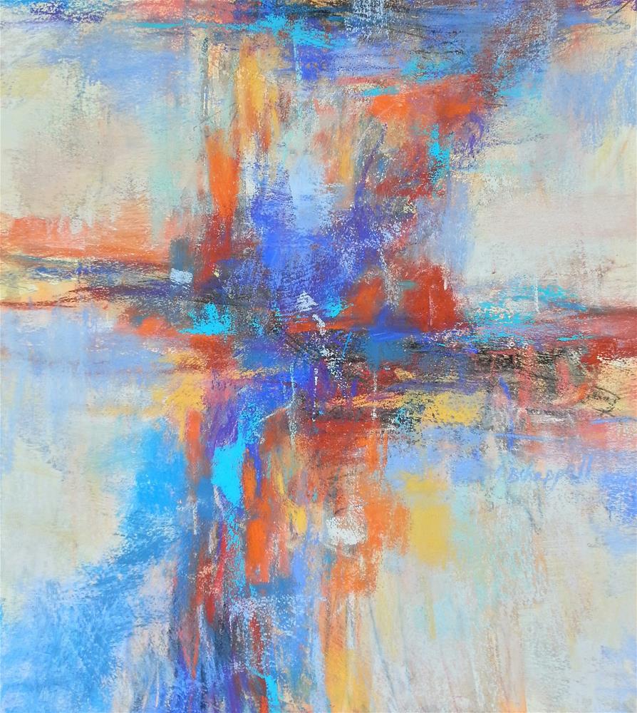 """""""A Deep Breath"""" original fine art by Becky Chappell"""