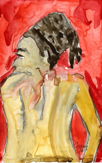 """Structural Challenge"" original fine art by Donna Crosby"